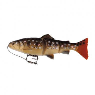 SG 3D Line Thru Trout 15cm 40g MS 03-Dark Brown Trout