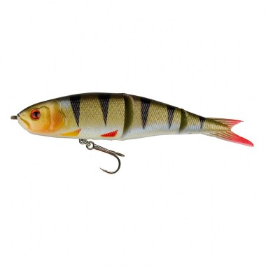 SG Soft 4Play 9.5cm 8.5g Swim&Jerk 04-Perch 3pcs