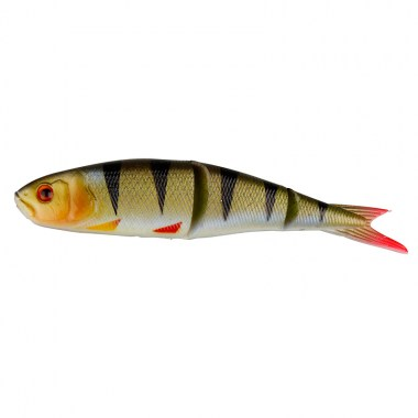SG LB Soft 4Play 8cm 4g Swim&Jerk 04-Perch 4+1pcs