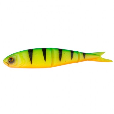SG LB Soft 4Play 9.5cm 7.5g Swim&Jerk 05-Firetiger 4pcs