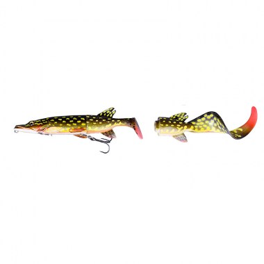 SG 3D Hybrid Pike 25cm 130g SS 02-Yellow Pike